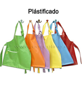 Delantal plastificado